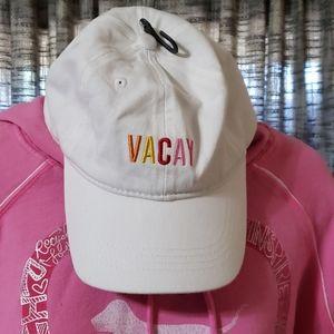 🆕️Francesca's VACAY adjustable strap hat